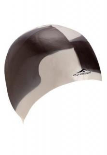 Силиконовая шапочка для плавания в бассейнах.  Отлично подходит для людей с длинными волосами.