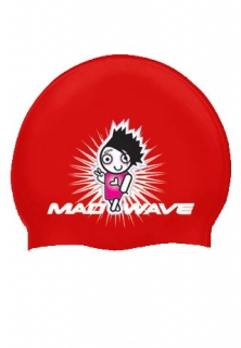 Mad Wave Шапочка Cute Junior Printed Silicone