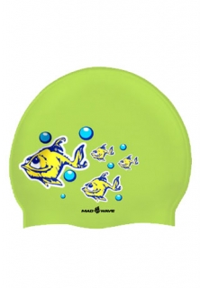 Mad Wave Шапочка Depressive Fish Junior Printed Silicone