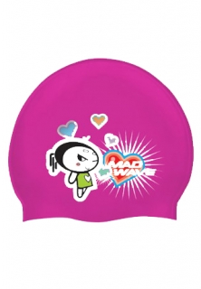 Mad Wave Шапочка Lovely Junior Printed Silicone