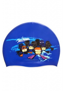 Mad Wave Шапочка Mad Team Junior Printed Silicone