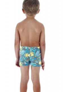 SPEEDO Boys imp allover printed aquashort плавки детские