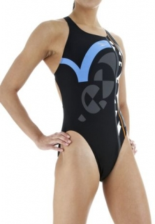 SPEEDO Hydroburst Placement Powerback, купальник женский