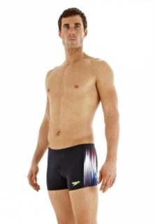 SPEEDO Powersprint Placement Aquashort плавки шорты мужские