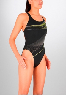 SPEEDO Herculean Placement Leaderback женский купальник
